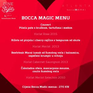 bocca-menu